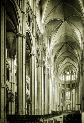 Bourges Cathedral -Nave