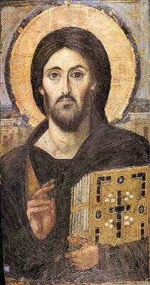 Christ -6th Century Painting