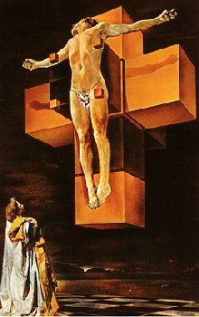 Crucifixion, by Salvador Dali
