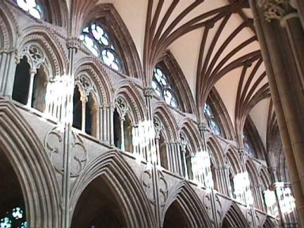 Lichfield Cathedral -Clerestory