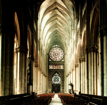 Reims Cathedral -Nave